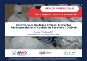 Webinar Enfermería en Cuidados Críticos: Elementos Fundamentales en el Cuidado de Pacientes COVID-19